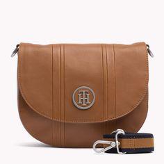 Tommy Hilfiger Pebbled Leather Crossover Bag - cognac (Brown) - Tommy Hilfiger Crossover Bags - main image