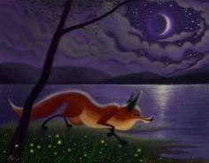 Art of Nik - 056. Night Fox by nik159