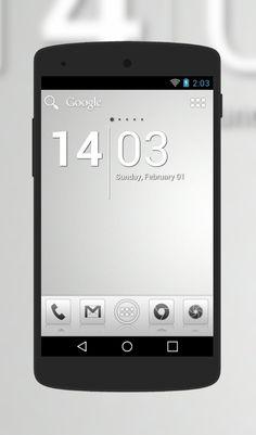 """Aerish GTX"" Android Theme. Free download  http://androidlooks.com/theme/t1232-aerish-gtx/  #android, #androidthemes, #customization,  #adwLauncher"