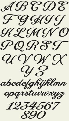 alphabet fonts to print for free   Letterhead Fonts / LHF Packard Script / Script Fonts