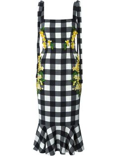 Shop Dolce & Gabbana check acacia dress in Parisi from the world's best independent boutiques at farfetch.com. Over 1500 brands from 300 boutiques in one website.