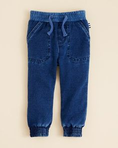 b2e458795ea2 Splendid Infant Boys  Jogger Knit Denim Pants - Sizes 3 6-18