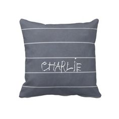 Chalkboard Patterns Pillows