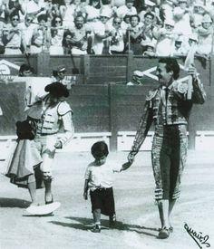 The torero Jose Maria Manzanares and son, Jose Maria Manzanares Jr.
