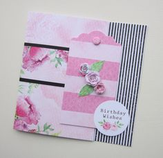Card made by Kath Woods using the Heritage Rose collection. Birthday Wishes, Birthday Cards, Heritage Rose, Craftwork Cards, Vintage Roses, Craft Work, Flower Cards, Handmade Cards, Woods