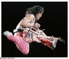 Eddie Van Halen-One of the Best guitarist! Alex Van Halen, Eddie Van Halen, Wolfgang Van Halen, Van Halen 5150, Van Hagar, Sammy Hagar, David Lee Roth, Scissor Kicks, Best Guitarist