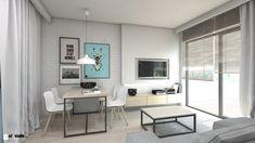 Salon styl Skandynawski - zdjęcie od A2 STUDIO pracownia architektury - Salon - Styl Skandynawski - A2 STUDIO pracownia architektury