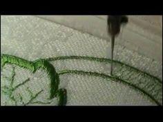 Машинная вышивка Шов восьмерка Рукоделие