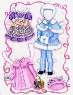 Honey Girl Paper Doll by Connie Marshall (9 of 9)   skleindint1   MaryAnn   Picasa Web Albums