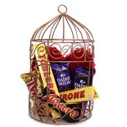 Alluring Love Hamper For Sister/Brother On Rakhi
