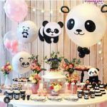 ¡Ideas para una Fiesta llena de Ternura: Kawaii! Panda Party, Panda Themed Party, Panda Birthday Party, Baby Birthday, Birthday Parties, Birthday Ideas, Panda Baby Showers, Panda Decorations, Birthday Party Decorations