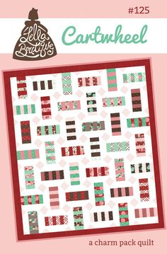 Cartwheel quilt pattern by Lella Boutique - Bloomerie Fabrics - Patterns - 1