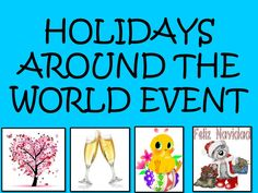 Resources for 9 Spanish or Hispanic holidays. Learn how to plan a holidays around the world event!