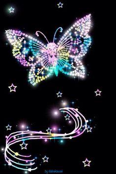 Mariposa Butterfly Wallpaper Iphone, Heart Wallpaper, Cute Wallpaper Backgrounds, Cellphone Wallpaper, Wallpaper Iphone Cute, Pretty Wallpapers, Disney Wallpaper, Galaxy Wallpaper, Butterfly Pictures