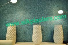 The Palm Jumeira by Silk Plaster Silk Plaster, Unique Colors, Fresco, Palm, Wall Lights, Colours, Modern, Home Decor, Silk