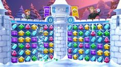 Frozen Free Fall Snowball Fight is a Free to play [F2P], Casual matching puzzle Game featuring multiplayer mode