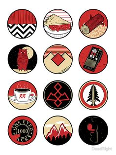 « Iconic: Twin Peaks » par DeadRight