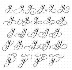 How To Do Calligraphy, Calligraphy Fonts Alphabet, Flourish Calligraphy, Calligraphy Worksheet, Copperplate Calligraphy, Tattoo Lettering Fonts, Hand Lettering Alphabet, Lettering Styles, Lettering Ideas
