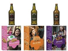 Organic ciders that pair well with girl scout cookies | Grown Up Drinks To Pair With Girl Scout Cookies For Your Green Wedding