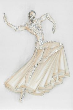 Criações de Riccardo Tisci para a Ópera de Paris.