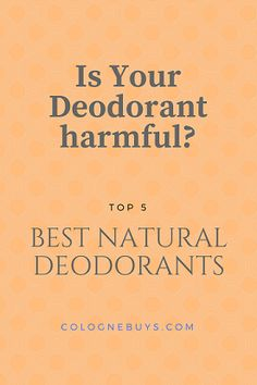 Find out what ingredients are in your deodorant. See the top 5 colognebuys best natural deodorants. Best Natural Deodorant, Health, Nature, Top, Naturaleza, Health Care, Nature Illustration, Off Grid, Crop Shirt