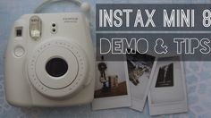 ♡Fujifilm Instax Mini 8: Demo & Tips♡ ♡PLEASE READ THE QUESTIONS IN THE COMMENTS I'VE ALREADY ANSWERED BEFORE ASKING YOUR QUESTION, THANK YOU :) ♡ ♡Hey guys!...