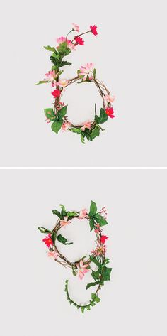 Floral numerals