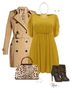 """""""Sunday"""" by ksims-1 ❤ liked on Polyvore featuring Burberry, Gucci and Stephanie Kantis"""