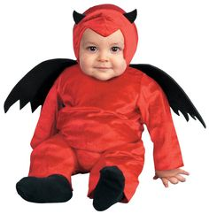 Disguise Tiny Treats D'Little Devil Toddler 12-18 months Halloween Costume NEW #Disguise #CompleteCostume