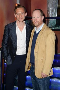 Twitter / ItalianLokiArmy: Gala screening of 'Much Ado About Nothing': Joss Whedon and our Mr. Hiddleston (HQ Torrilla)