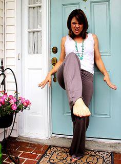 DIY Yoga Pants // Me Sew Crazy... Når mine yoga bukser meget snart er slidt op
