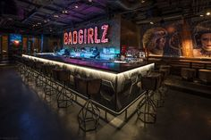 Restaurant & Bar Design Awards Nightclub shortlist includes: Dirty Blonde, Diamond Horseshoe, Bond Lounge, Badgirlz People By Crystal and Provocateur. Bar Design Awards, Café Bar, Pub Bar, Bar Lounge, Lounge Design, Nightclub Design, Nightclub Bar, Bar Interior, Restaurant Interior Design