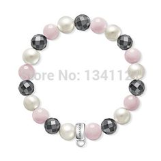 wholesale bracelets hot sale th283 three color 10 mm bead bracelet for women gift 2014 free shipping