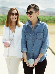 @Matchbook - Remember the places you love. Magazine 's Katie spends time with her mom playing bocce.