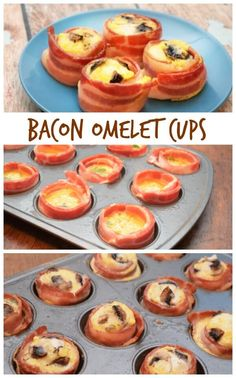 Bacon is man's best friend and the perfect ingredient in any Father's Day breakfast! But, these are great for any breakfast from Christmas to any weekend. Try these easy-to-make Bacon Omelet Cups for a low carb breakfast packed with protein and veggies!