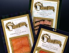 Echo Falls Salmon, the best in the marketplace. Food Packaging, Packaging Design, Fish And Meat, Smoked Salmon, Seafood, Projects To Try, Branding, Fall, Low Carb