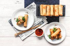 JARNÍ ZÁVITKY - . Tofu, Sushi, Vegan, Ethnic Recipes, Vegans, Sushi Rolls