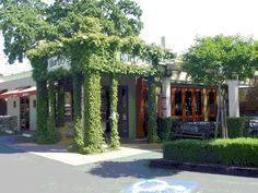 Hurley's restaurant in Yountville.  Visited on our last trip, thanks Bob (who ALWAYS finds the best places to dine)!