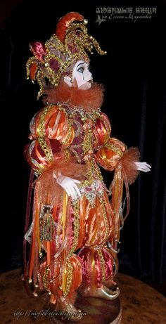 Clowning Around, Creepy Clown, Clowns, Elves, Fairies, Masks, Dolls, Christmas Ornaments, Holiday Decor