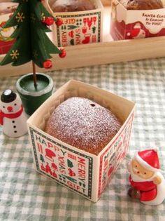 「【クリスマス】キューブカップでパネトーネ」ナナママちゃん | お菓子・パンのレシピや作り方【corecle*コレクル】