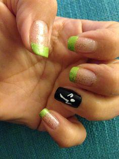 My Zumba nails :-)