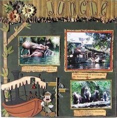 Disney Scrapbook Pages ...