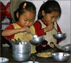 Food: In North Korea, people think it is offensive to walk and eat, but it is mannerly to slurp your soup.