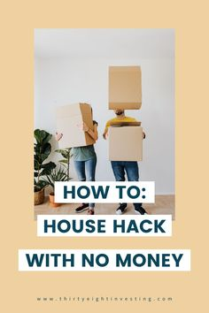 Ultimate guide for house hacking with no money. In this article you will learn how to house hack and how to rent out a rental property with no money! Repurposed Items, Minimalist Living, Home Hacks, Rental Property, Investing, Articles, Money, House, Ideas