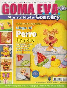 Revistas de manualidades Gratis: Como hacer un perro en foamy