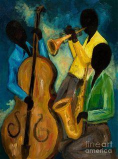 Poco Jazz Trio III por Larry Martin