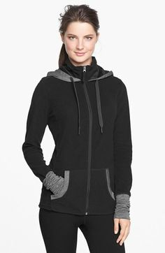 Roxy 'Cozy Up' Fleece Jacket - after today's frigid run, you bet!