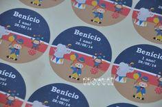 Etiqueta redonda 5cm - Circo  :: flavoli.net - Papelaria Personalizada :: Contato: (21) 98-836-0113 - vendas@flavoli.net