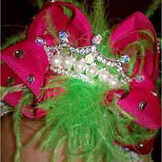 Princess Pei Pei's custom hair bow!! By http://www.etsy.com/shop/laurahobbs2?ref=ss_profile