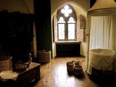 Queen Katherine of Aragon's royal bathroom in Leeds Castle
